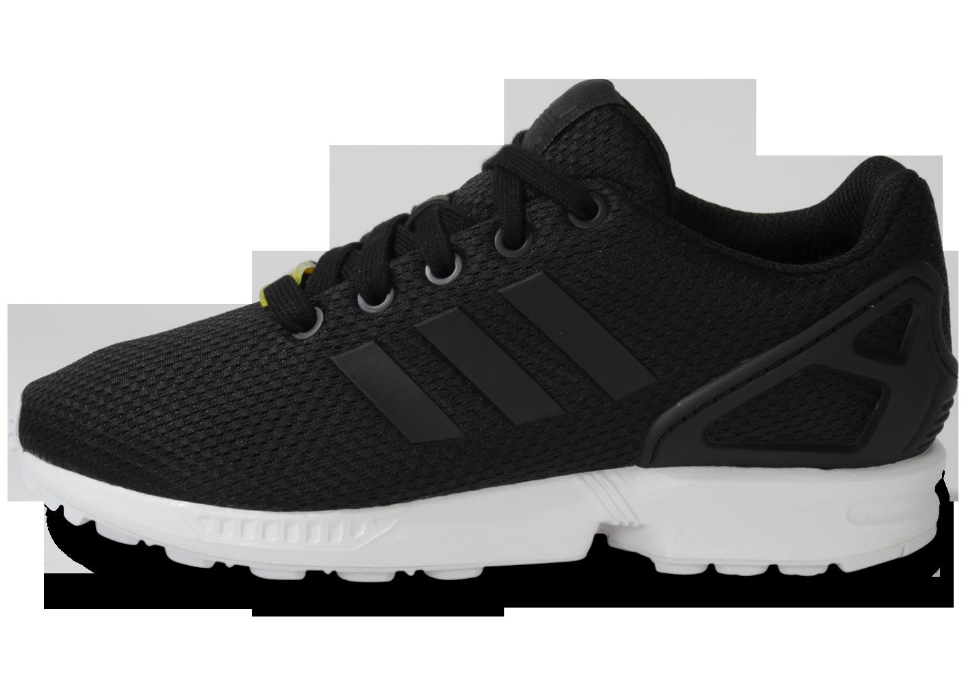 Nouveaux produits c8ed8 a4cd1 adidas chaussure zx flux noir