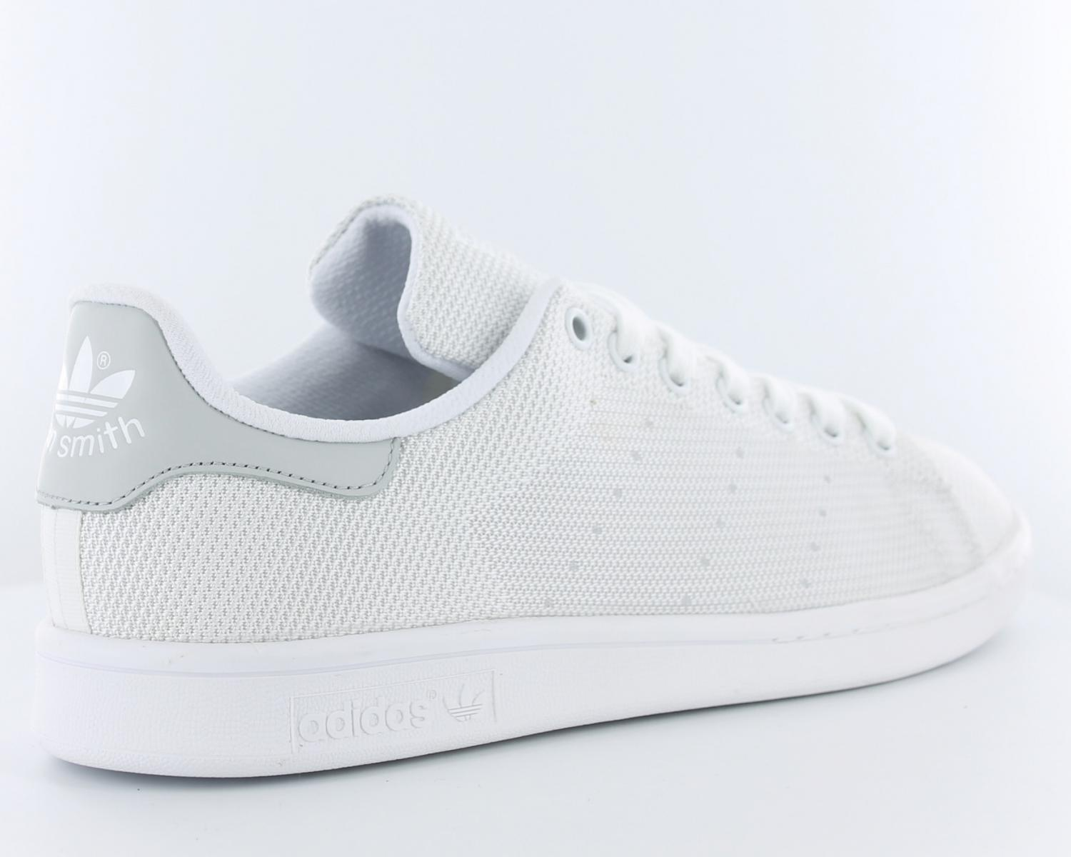pretty nice 467ad 816f0 ... czech cliquez pour zoomer chaussures adidas stan smith blanc vert vue  f7454 def45