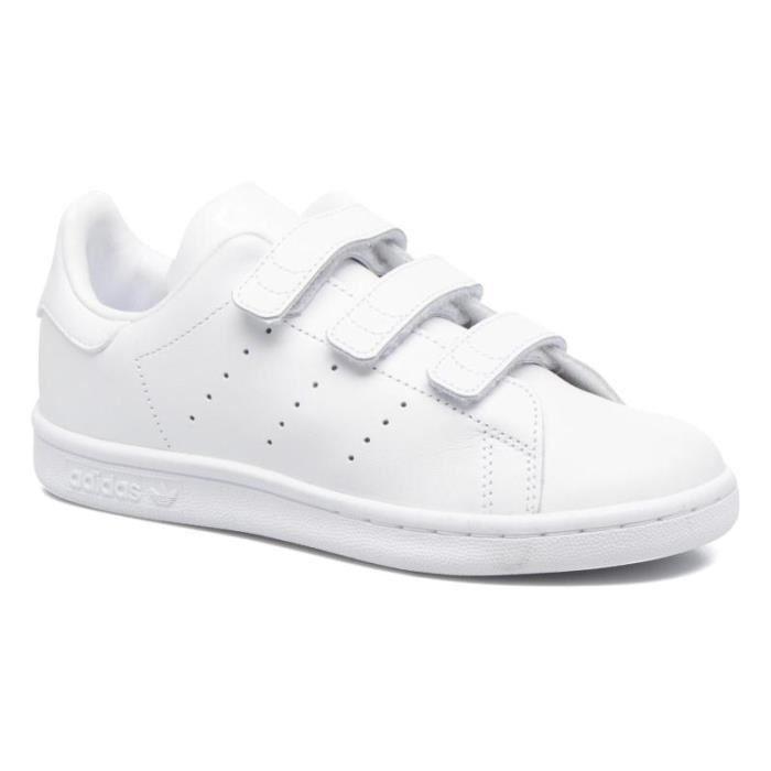 pretty nice 98a54 ce936 ... czech cliquez pour zoomer chaussures adidas stan smith blanc vert vue  f7454 def45
