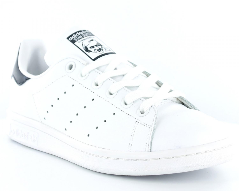 adidas stan smith femme blanc et noir
