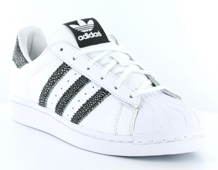 adidas superstar blanche brillante