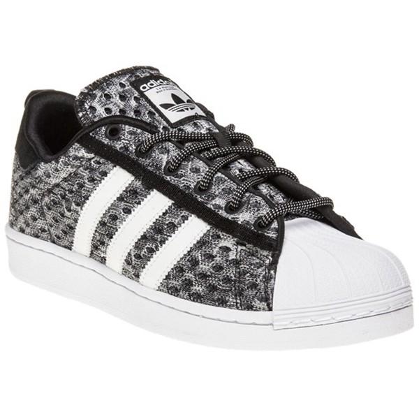 new style 1a0b4 5b141 Boutique Fran aise - Adidas Superstar Chaussures Hommes Noir GID   Shock  Mint   f37671 Blanc Noir adidas Superstar GID. Baskets Basses Homme. Noir  Adidas ...