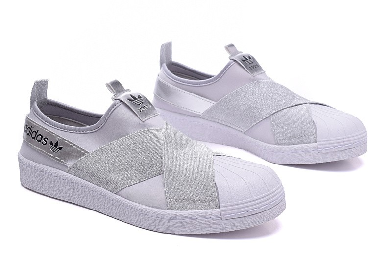 Adidas Originals Superstar Slip On 'Baskets' Blanc 3PN70F4